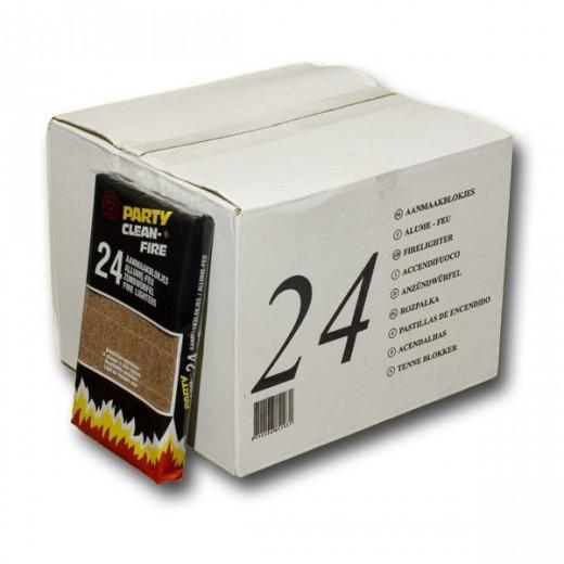bois2chauffage.fr, Carton de 24 boîtes de allume-feux