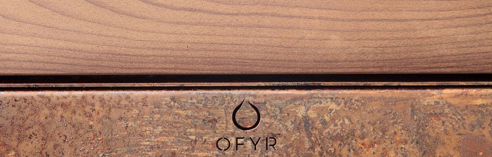 Ofyr Wood Storage & Bench