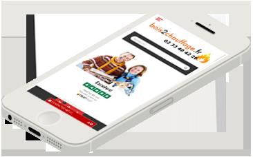 Commander votre bois de chauffage avec votre smartphone -bois2chauffage.fr
